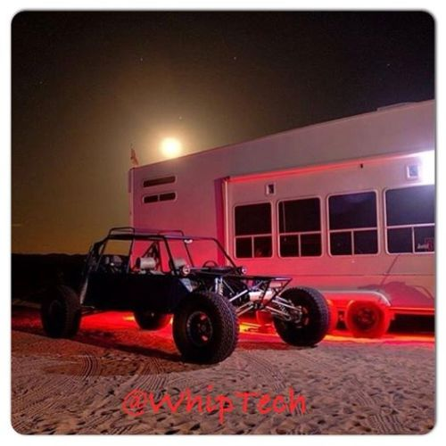 Multicolor Whips, RV underglow, night Light, Glamis, Sandcar, Buggy, RZR XP 1000, XP900, Sand dunes,