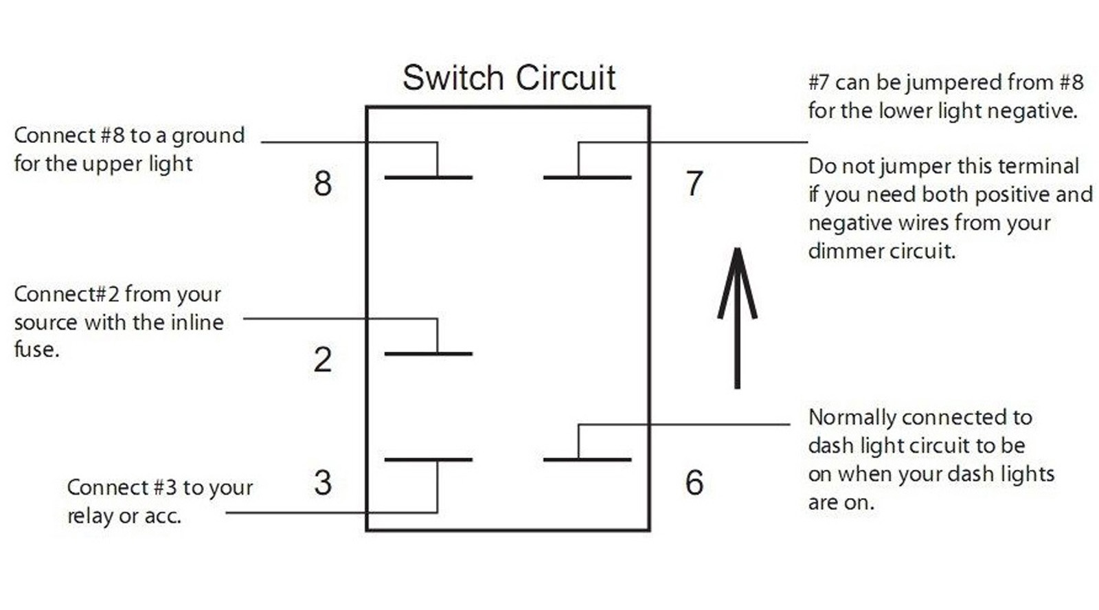 Wiring Diagram For Light Bar Switch Solutions Driving Rocker Switches Whiptech
